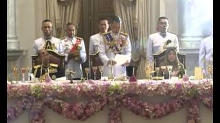 Download State Banquet for the Malaysian King in Bangkok Video