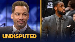 Download Chris Broussard says LeBron's injury helps his MVP case if he can uplift Lakers | NBA | UNDISPUTED Video