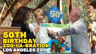 Download 50th birthday ″ZooLAbration″ at Los Angeles Zoo Video