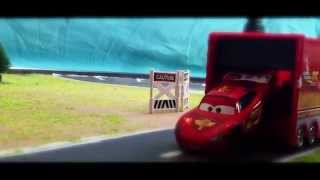 Download Cars Movie - McQueen finds Mac and races Thomas the Tanks Engine - Cars Toons Video