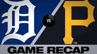 Download Reynolds' 3-run homer lifts Pirates to win | Tigers-Pirates Game Highlights 6/19/19 Video