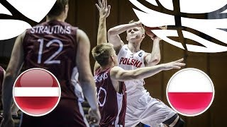 Download Latvia v Poland - Full Game - Semi-Finals - FIBA U20 European Championship Division B 2018 Video