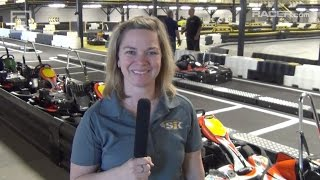 Download RACER: Robin Miller with Sarah Fisher on New Karting Facility Video