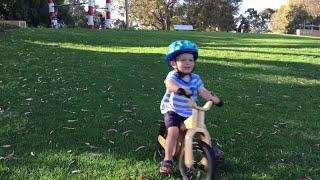 Download 3 year old Balance Bike adventures video kids Early Rider Lite strider Video