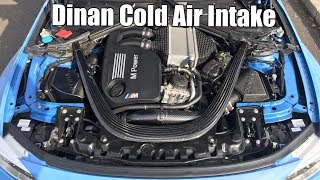 Download V77: DIY Dinan Cold Air Intake Install on an F80 BMW M3 and Sound Clip (F82 F83 M4) Video