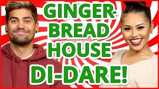 Download DIY GINGERBREAD HOUSE?! Di-Dare w/ Rajiv Dhall & Roxette Arisa Video