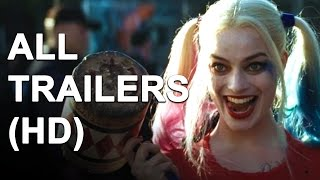 Download SUICIDE SQUAD - All Trailers (2016) Video