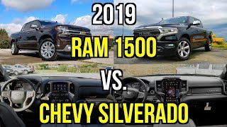 Download LUXURY TRUCK FACEOFF - 2019 Chevy Silverado vs. 2019 RAM 1500: Comparison Video