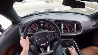 Download 2017 Dodge Challenger SRT Hellcat 6 Speed Manual POV Drive! Video