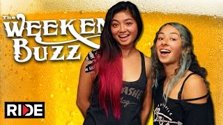 Download Lizzie Armanto & Allysha Le : Auby Taylor, Boba, Jeff Grosso & More! Weekend Buzz ep. 109 pt. 1 Video