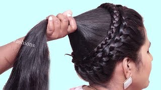 Download Different Hairstyles for party/wedding/work || hairstyle for long hair girls | hair style girl Video