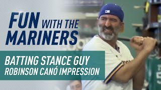 Download Batting Stance Guy does his Robinson Cano for Robbie Video