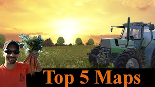 Download Farming Simulator 2015 Top 5 maps Video