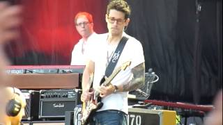 Download John Mayer - Slow dancing in a burning room (Roma 22.06.2014) Video