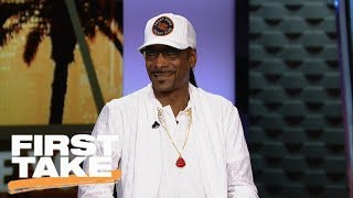 Download Snoop Dogg dishes on Pittsburgh Steelers, Le'Veon Bell, Antonio Brown and more | First Take | ESPN Video