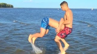 Download WWE MOVES AT THE BEACH Video