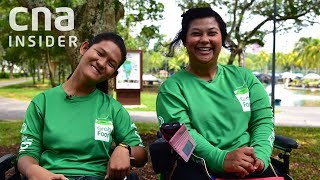 Download GrabFood Delivery Gig Gives Woman With Cerebral Palsy Her Independence Video