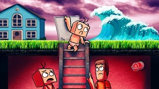 Download Minecraft | Who's Your Daddy? How to Survive a Tsunami! (Baby vs Tsunami) Video