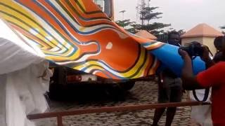 Download ASIRI Presents Yinka Shonibare MBE,Wind Sculpture VI in Lagos UKNG Art Project Video