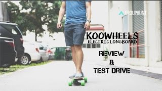 Download Koowheel Electric Longboard Review & Test Drive Video