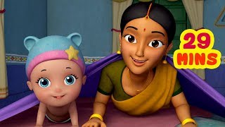 Download என் செல்ல கண்ணே | Tamil Rhymes for Children Collection | Infobells Video