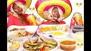 Download {MEXICAN} DINNER MUKBANG ASMR Eating Sounds Texture | MEGA TINGLE Video