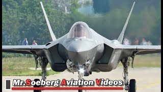 Download FULL POWER AFTERBURNER Departure F35 at Volkel Video