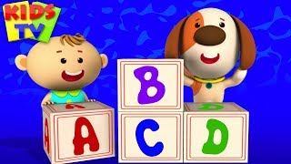 Download ABC Song | Little Eddie Cartoon | Nursery Rhymes & Baby Songs For Children Video