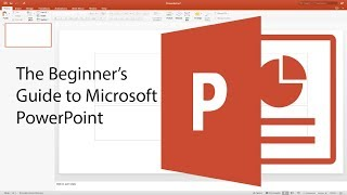 Download Beginner's Guide to PowerPoint - 2017 Tutorial Video