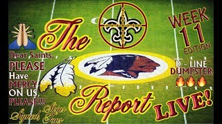 Download The Redskins Report LIVE! Ep 17.11 | Blown Opportuntity vs. Vikes; D.O.A. @ Saints | WK 11 @ NO🏈 Video