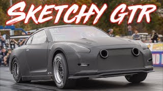 Download Sketchy 2300HP GTR goes 210mph in 7 Seconds - BRUTAL ACCELERATION! Video