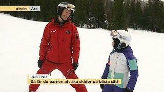 Download Så lär du barnen åka skidor - Nyhetsmorgon (TV4) Video