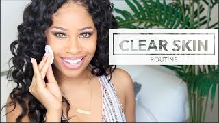 Download My CLEAR SKIN Routine | Simple, Smooth + Even Skin Video