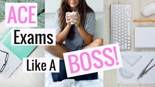 Download How To Study For Exams Like A BOSS | Study Tips + Tricks! Video