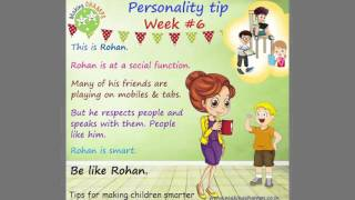 Download Personality Tips for Children Video