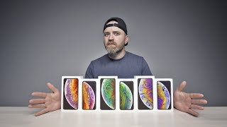 Download Unboxing Every iPhone XS + XS Max Video