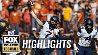 Download Texas vs. West Virginia | FOX COLLEGE FOOTBALL HIGHLIGHTS Video