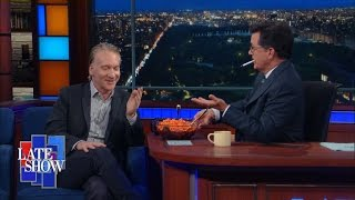 Download Bill Maher Is Served A Steaming Bowl Of Trump Video