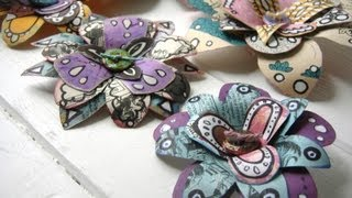 Download How to Make Recycled Paper Flowers Video