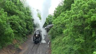 Download N&W 611 Class J Struggles HARD on Linden Hill + Runby's! Video