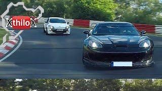 Download Megane RS + Corvette Z06 ZR1 - BTG 7:43 min on Nürburgring Nordschleife Video
