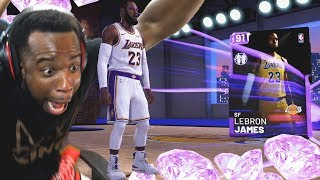 Download OMG I Pulled LeBron James In My First Pack Opening! NBA 2K19 MyTeam Video