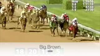 Download Kentucky Derby Stretch Runs 2000-2016 Video