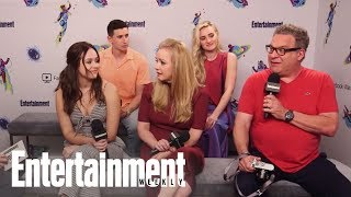 Download 'The Goldbergs' Cast On The Real Origins Behind Beverly's F-Bombs | SDCC 2018 | Entertainment Weekly Video