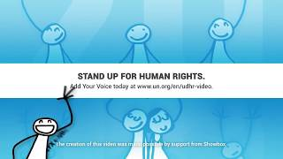Download Jamie Crique, United States, reading article 6 of the Universal Declaration of Human Rights Video
