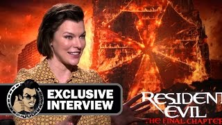 Download Milla Jovovich Exclusive RESIDENT EVIL: THE FINAL CHAPTER Interview (JoBlo) Video