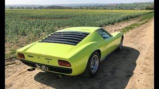 Download Lamborghini Miura history and drive review. Mega sound! Video