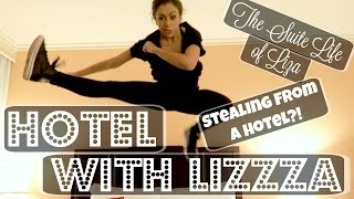 Download STEALING FROM HOTELS?! HOTEL WITH LIZZZA | Lizzza Video