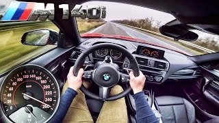Download BMW M140i ACCELERATION & TOP SPEED POV Autobahn Test Drive by AutoTopNL Video