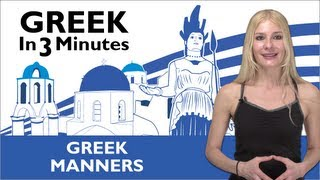 Download Learn Greek - Thank You & You're Welcome in Greek Video